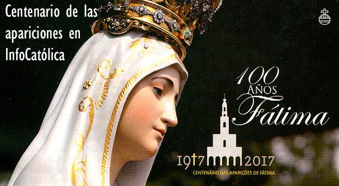 Centenario de las apariciones de Fátima