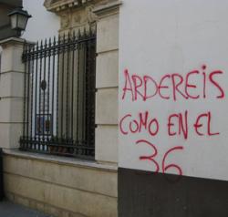 Recopilatorio de ataques a la libertad religiosa en España 2012