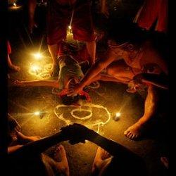 Encuentran restos de animales en un ritual de santería en Ciudad Real