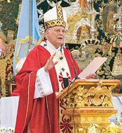 El cardenal Amigo pide a los rocieros que defiendan la vida desde la concepción hasta la muerte natural