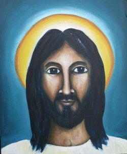 «Todo lo que pinto es una extensión de mi fe»