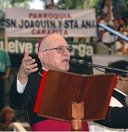 Un obispo venezolano lamenta que en su país se pretenda que todo el mundo piense como el presidente