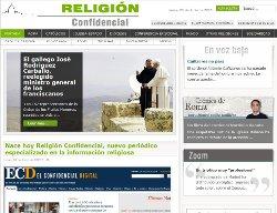 Nace Religión Confidencial, nuevo periódico especializado en la información religiosa
