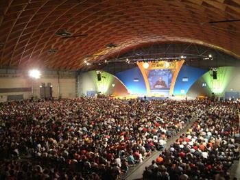 El «Meeting» de Comunión y Liberación se extiende por varios continentes