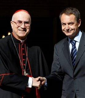 Zapatero: «No hay ningún país en el que la Iglesia Católica pretenda tener un protagonismo en el debate público»