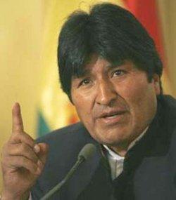 Evo Morales afirma que el aborto es un delito