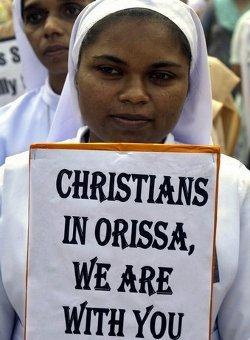 Extremistas hindúes violan y matan a una joven cristiana en Orissa