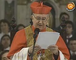 El cardenal Errázuriz pide a los candidatos a la presidencia de Chile que defiendan la vida y la familia