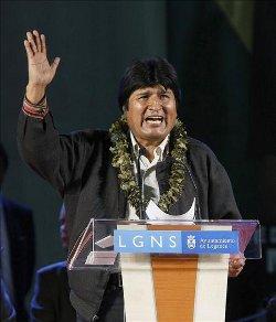 Evo Morales antepone los derechos de la «Madre Tierra» a los del hombre