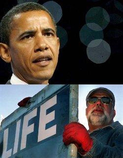 Obama condena el asesinato del minusválido pro-vida en Michigan