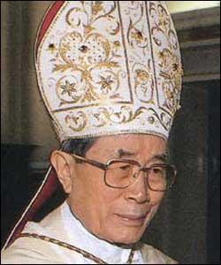 El cardenal Paul Shan recibe el premio presidencial por la paz en Taiwan