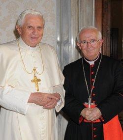 El Cardenal Cañizares asegura que los jóvenes de la JMJ verán en Benedicto XVI al «Papa de la esperanza»