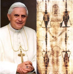 El Papa llega a Turín para visitar la Sábana Santa