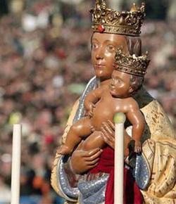 Celebración especial de Santa María la Real de la Almudena en su año jubilar