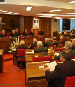La Ejecutiva de la CEE estará formada por los arzobispos Asenjo, Del Rio, Barrio y Pérez