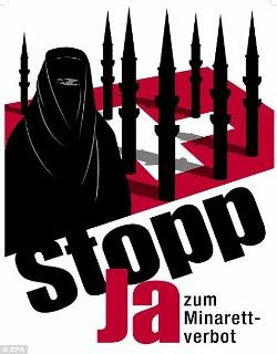 Los musulmanes residentes en Suiza piden la abolición de la prohibición de los minaretes