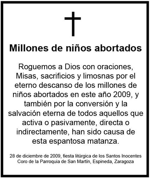 Campaña Santos Inocentes
