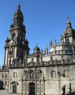 Todo preparado en Santiago de Compostela para recibir al Papa