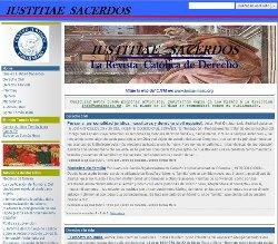 La Revista Iustitia Sacerdos, nuevo proyecto del Centro Jurídico Tomás Moro
