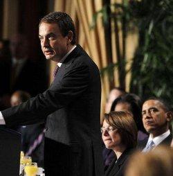 Zapatero cita la Biblia: «No explotarás al jornalero pobre y necesitado, ya sea tu compatriota o extranjero»