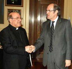 Encuentro cordial entre el Ministro de Educación y el Presidente de la Comisión Episcopal de Enseñanza y Catequesis