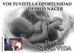 Roberto Castellano: «El aborto es un verdadero acto de terrorismo de Estado»