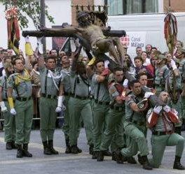 Los militares españoles podrán participar de nuevo sin problemas en las procesiones de Semana Santa