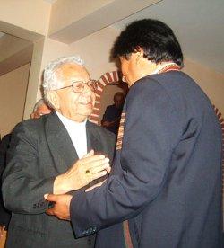 Evo Morales acusa al Cardenal Terrazas de provocar la división mientras el purpurado ora en Roma por su país