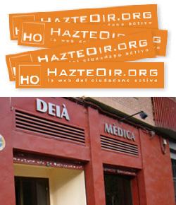 HazteOir consigue que la Generalitat Valenciana retire del carnet joven a una clínica abortiva
