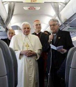 El P. Lombardi asegura que no hay preocupación alguna por la seguridad del Papa en su viaje al Líbano