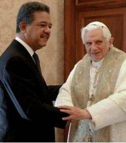 El presidente de la República Dominicana se compromete ante el Papa a mantener penalizado el aborto en su país