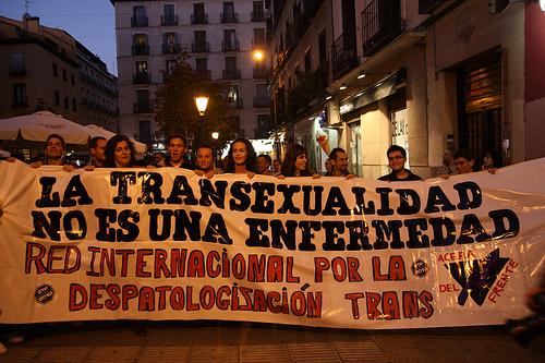 EL PSOE quiere la OMS deje de catalogar la transexualidad como una enfermedad mental