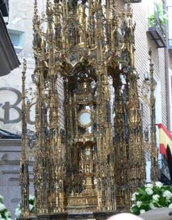 El Primado de España no quiere polémica por la ausencia de militares en el homenaje a la Custodia de Arfe