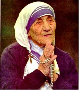 Retiran símbolos religiosos de la exposición sobre la Madre Teresa de Calcuta