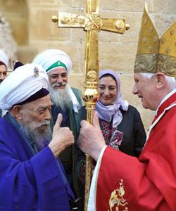 El Gran Muftí de Chipre le da plantón al Papa