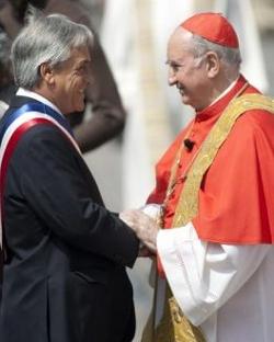 El cardenal Errázuriz cree que el presidente Piñera comparte los criterios de los obispos chilenos sobre el indulto
