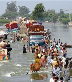 Cáritas pide ayuda para prestar auxilio a los damnificados por las lluvias torrenciales e inundaciones en Pakistán