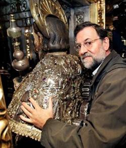 Rajoy: «Señor Santiago, te pedimos tu ayuda para no desfallecer en nuestra tarea»
