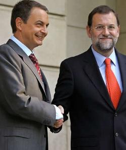 Rajoy acusa a Zapatero de despreciar el Año Santo Compostelano