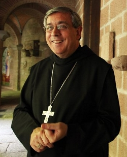 Los monjes de Montserrat apoyan el referendum independentista en Cataluña