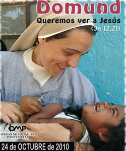 Hoy se celebra el Domund, domingo mundial de las Misiones