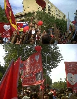 Miles de personas defienden la vida frente al Congreso de los mercenarios de la muerte en Sevilla