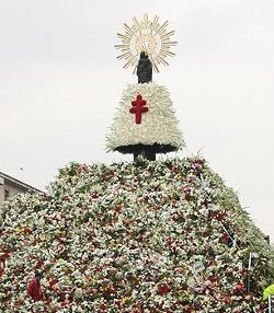 Se espera casi medio millón de fieles en la Ofrenda a la Virgen del Pilar