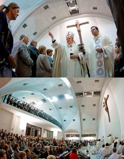 Mons. Osoro inaugura una iglesia dedicada a todos los mártires valencianos
