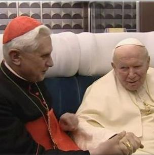 Benedicto XVI concede una entrevista sobre la figura de Juan Pablo II