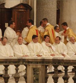 El Papa a los miembros de la Fraternidad San Carlos: «La gloria y la alegría del sacerdocio es servir a Cristo y su Cuerpo místico»