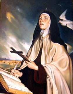 Benedicto XVI: «Teresa de Jesús es una verdadera maestra de vida cristiana»