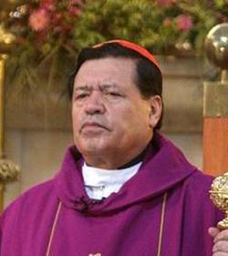 El Cardenal Rivera pide a los católicos que voten pensando en el derecho a la vida y la institución familiar