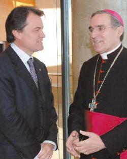 Los obispos catalanes aseguran que Cataluña tiene rasgos nacionales