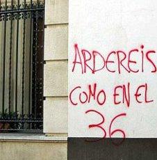 En España hubo 13 delitos de odio contra el cristianismo en el 2013